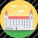 bratislava, bratislava historic building, erdődy's palace ventúrska, late-baroque palace, slovakia icon