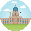 canada, central winnipeg, legislative assembly of manitoba, manitoba legislative, unicameral house of the manitoba legislature icon