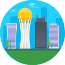 astana, astana bayterek, astana city, bayterek tower, kazakhstan icon