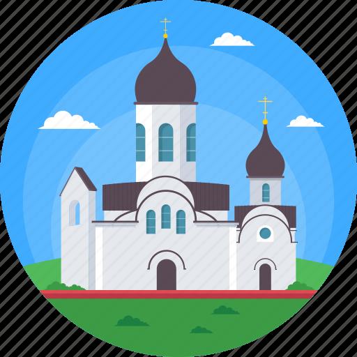 lithuania, lithuania historic building, lithuania historic church, pokrov nicholas church, world famous church icon