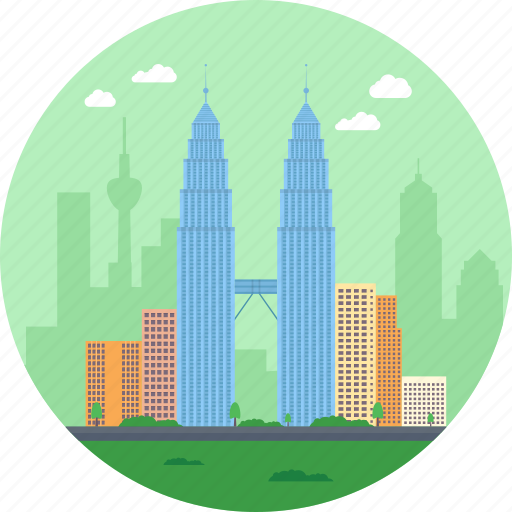 jalan ampang, kuala lumpur, malaysia, petronas tower commercial offices and tourist attraction, petronas twin towers icon