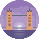 central london, city of london, london bridge, river thames, world famous bridge icon