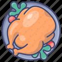 thanksgiving, turkey, chicken icon