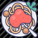 italy, pasta, spaghetti