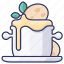 cuisine, french, onion, soup icon