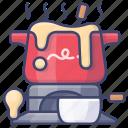 cheese, cuisine, fondue, swiss icon