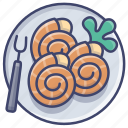 cuisine, dish, escargot, french