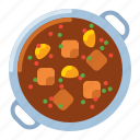 goulash, stew, ramen, food
