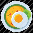 nasi, goreng, food, rice icon