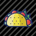 tacos, burrito, mexican