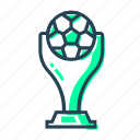 1st, award, competition, cup, first place, football, football cup, soccer, soccer competition, winner, world, world cup icon