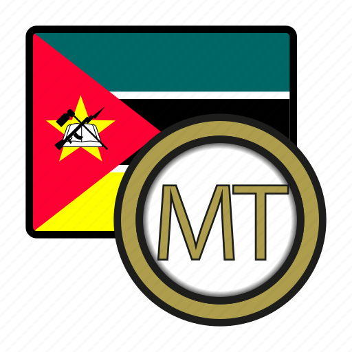 africa, currency, exchange, metical, money, mozambique, world icon