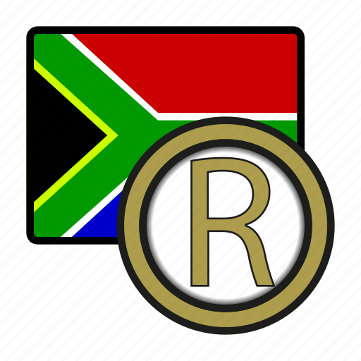 africa, currency, exchange, money, rand, southafrica, world icon