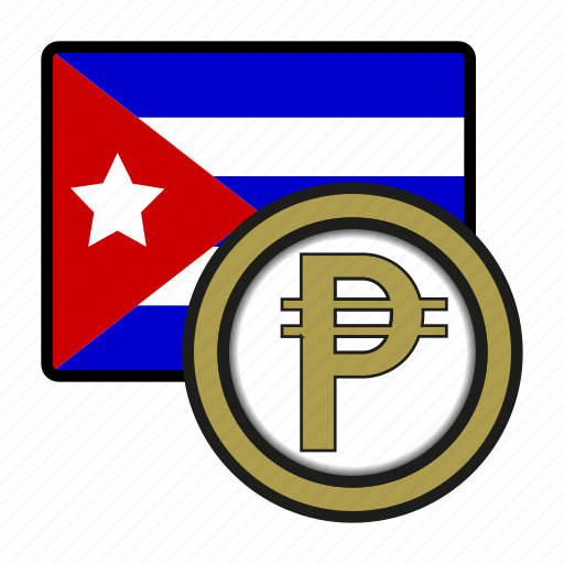 america, coin, cuba, currency, exchange, peso, world icon