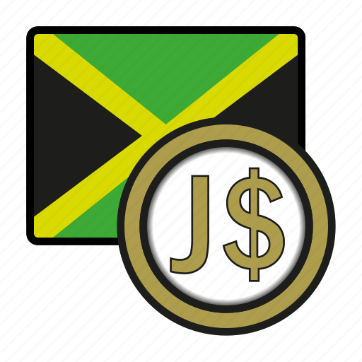 america, coin, currency, dollar, exchange, jamaica, world icon