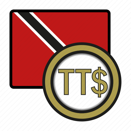 coin, currency, dollar, exchange, tobago, trinidad, world icon