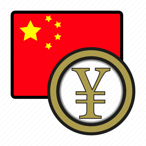 china, coin, currency, exchange, renminbi, world, yuan icon