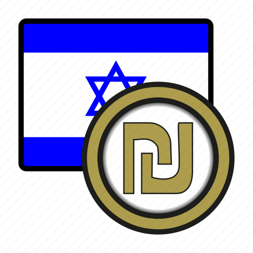 asia, coin, currency, exchange, israel, shekel, world icon