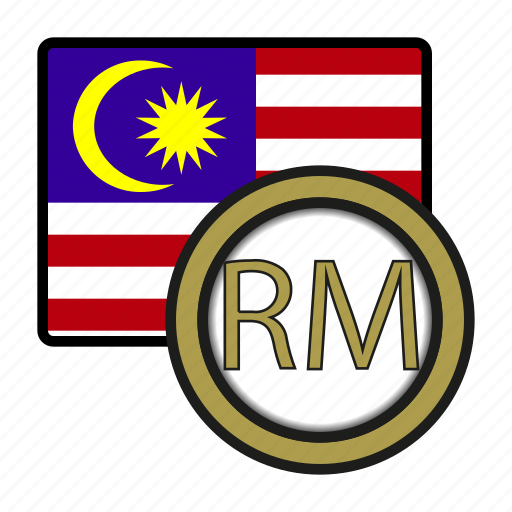 asia, coin, currency, exchange, malaysia, ringgit, world icon