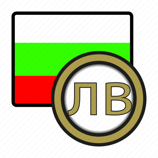bulgaria, coin, currency, europe, exchange, lev, world icon