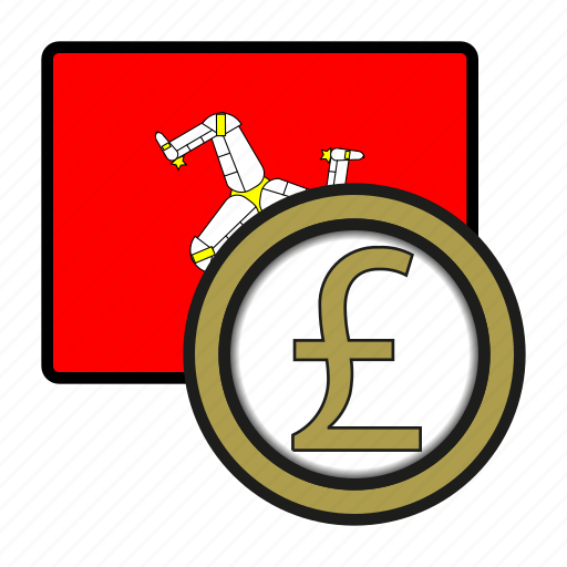 coin, currency, europe, exchange, isleofman, pound, world icon