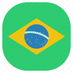 brazil, brazilian, country, flag, national icon