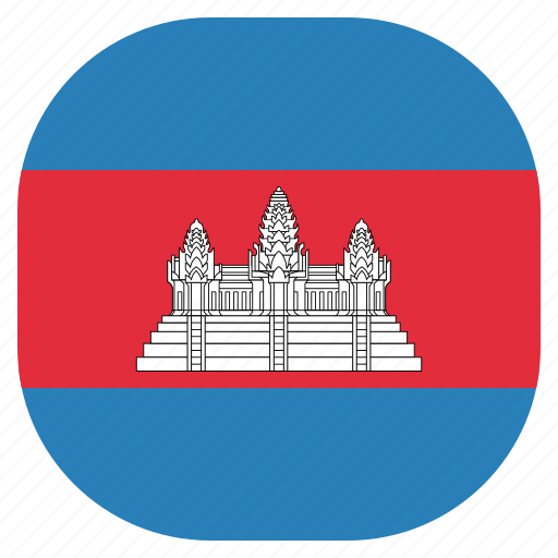 cambodia, cambodian, country, flag, national icon