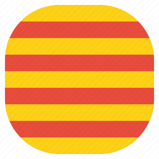 catalonia, catalunya, country, european, flag, national, region icon