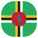 country, dominica, flag, national