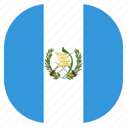 country, flag, guatemala, national icon