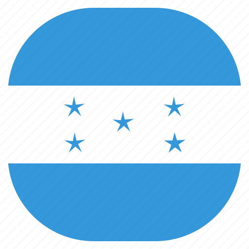 country, flag, honduras, national icon