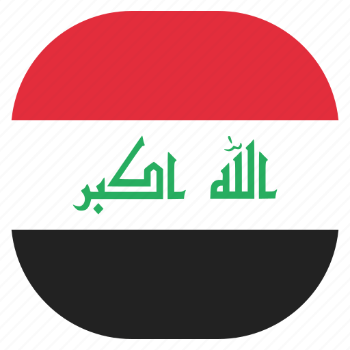 country, flag, iraq, iraqi, national icon