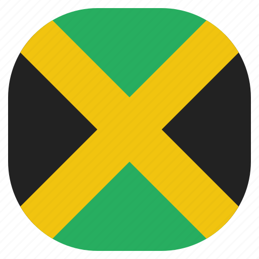 country, flag, jamaica, jamaican, national icon