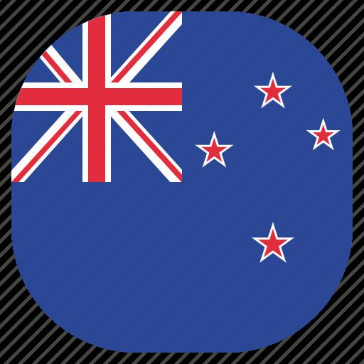 country, flag, kiwi, national, new, zealand icon