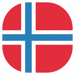country, flag, national, norway, norwegian icon