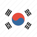 korea, country, national, flag, korean, south