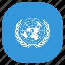 flag, nations, un, united