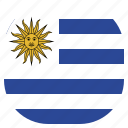 country, flag, national, uruguay, uruguayan