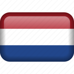 caribbean netherlands, country, flag icon