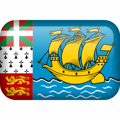 country, flag, saint pierre and miquelon icon
