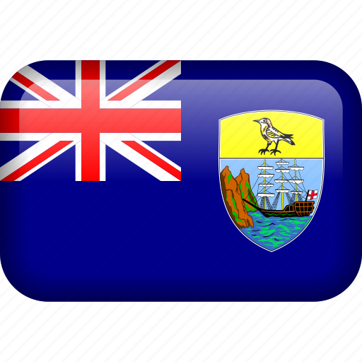 country, flag, saint helena icon
