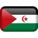 country, flag, western sahara icon