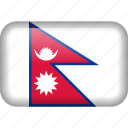 country, flag, nepal