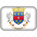 barthelemy, country, flag, saint barthelemy icon