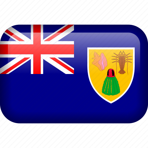 country, flag, turks and caicos icon