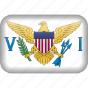 country, flag, virgin, virgin islands icon