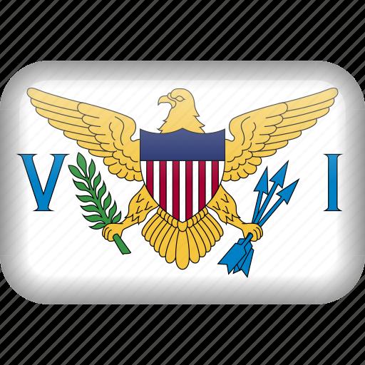 country, flag, virgin, virgin islands icon