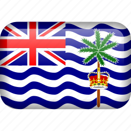 british indian ocean territory, country, flag icon