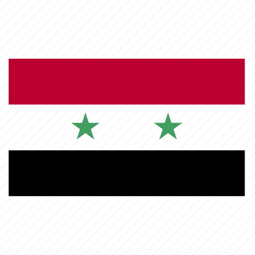 country, flag, syr, syria icon
