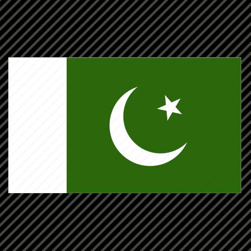asia, asian, country, flag, pak, pakistan, pakistani icon